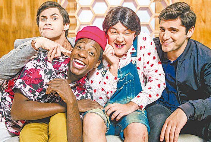 Globo divulga foto da nova versão de 'Os Trapalhões'