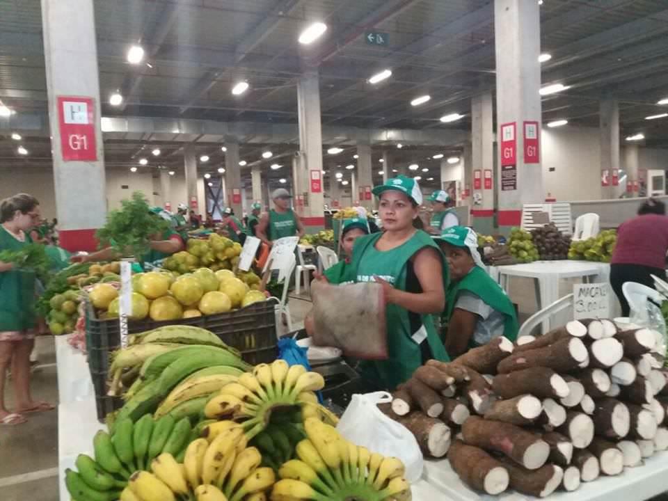 Artesanato Garrafas De Vidro Decoradas ~ Shopping Ponta Negra ganha Feira de Produtos Regionais