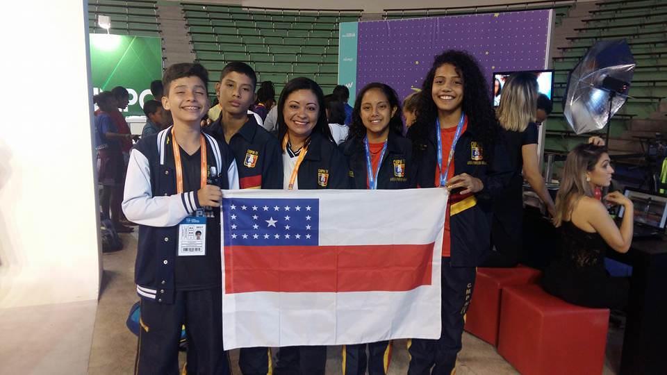 Amazonas fatura 12 medalhas pelos Jogos Escolares da Juventude em Curitiba