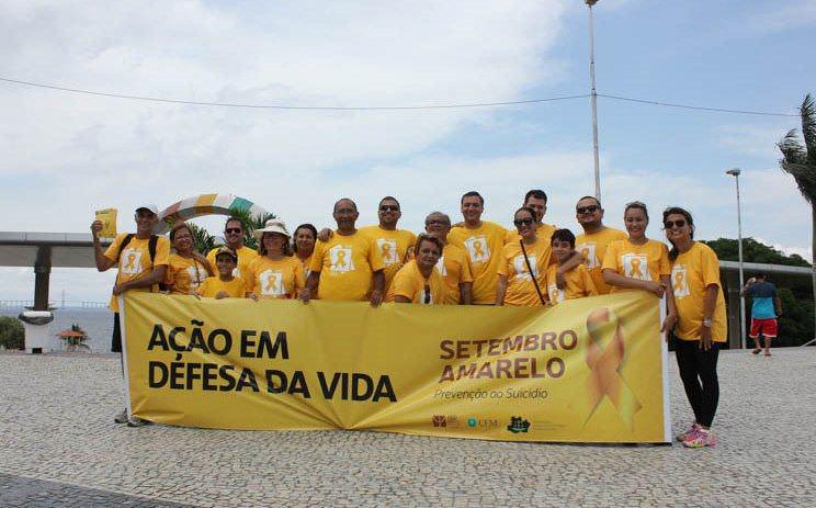 Campanha Setembro Amarelo chama atenção para índices de suicídio no Amazonas