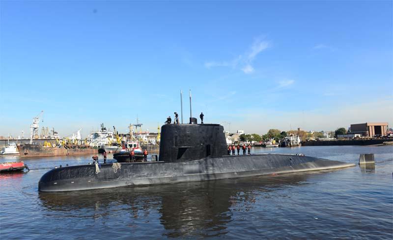 Submarino desapareceu no mar