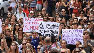 Atos se espalham pelo país após assassinato de vereadora