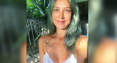 Luana Piovani posa de calcinha e exibe tatuagem íntima