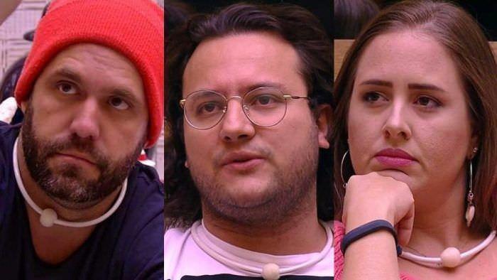 O trio formou o sétimo paredão da edição