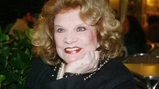 Com 95 anos, atriz abala com sua morte.