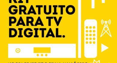 Prepare a sua TV para o sinal digital