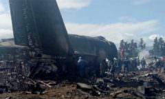 Avião cai nesta quarta-feira e deixa pelo menos 257 mortos