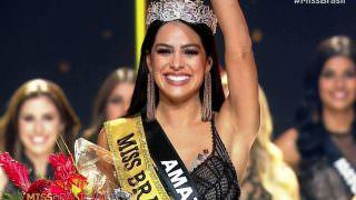 Amazonense é eleita a Miss Brasil 2018