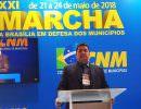 Tonantins é representada em Marcha dos prefeitos, em Brasília
