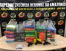 Dupla é presa com 52 kg de drogas e armas no Educandos