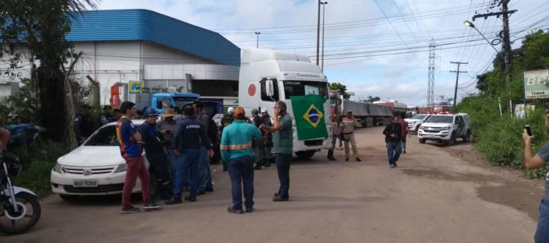 Entrada de refinaria é liberada após ordem judicial, em Manaus