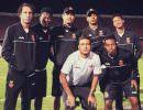 Jogadores do Vasco causam polêmica com foto no Chile