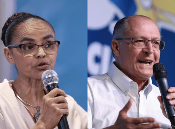 Marina rejeita possibilidade de ser vice de Alckmin