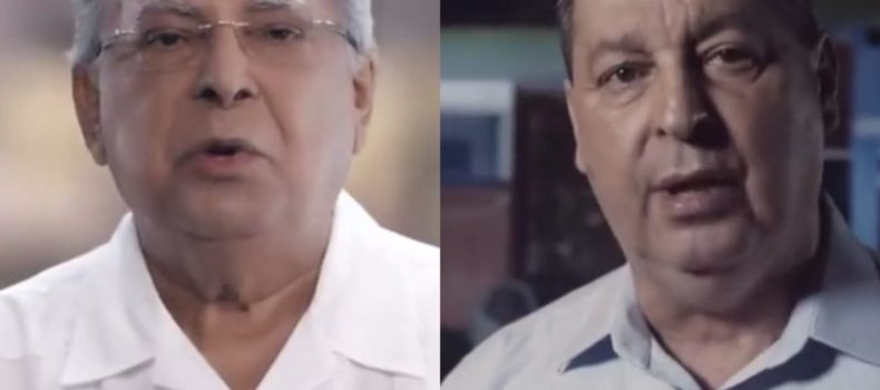 Na TV, Amazonino repete tema 'amor'; Omar destaca segurança