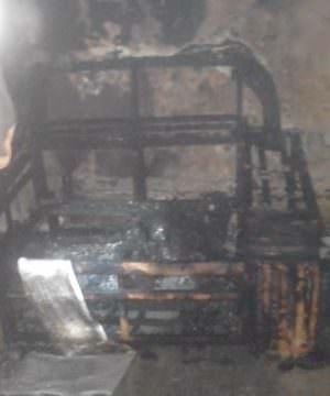 Incêndio atinge escola que funciona seções eleitorais em Parintins