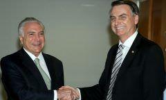 No dia do aniversário de Bolsonaro, Michael Temer é preso