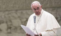 Papa Francisco diz que é inaceitável um cristão apoiar a pena de morte