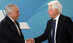 Temer e Moreira Franco ficarão detidos em cela especial da PM