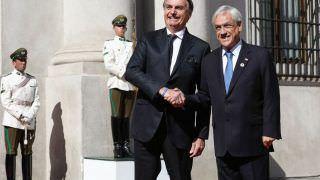 Em último dia no Chile, Bolsonaro se reúne com empresários e Piñera