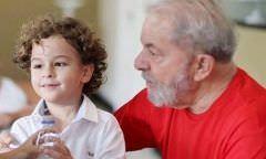 Após ser internado, morre neto de 7 anos do ex-presidente Lula
