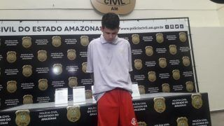 Suspeito de cometer crimes em Iranduba é preso em Manaus