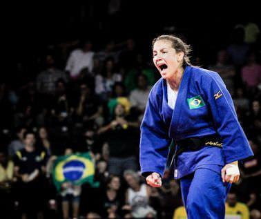 Brasileira fica com prata em Grand Slam de judô na Russia