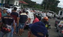 Motoristas de app são presos durante manifestação em Manaus