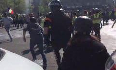 Mais de 100 pessoas são presas em protesto dos coletes amarelos