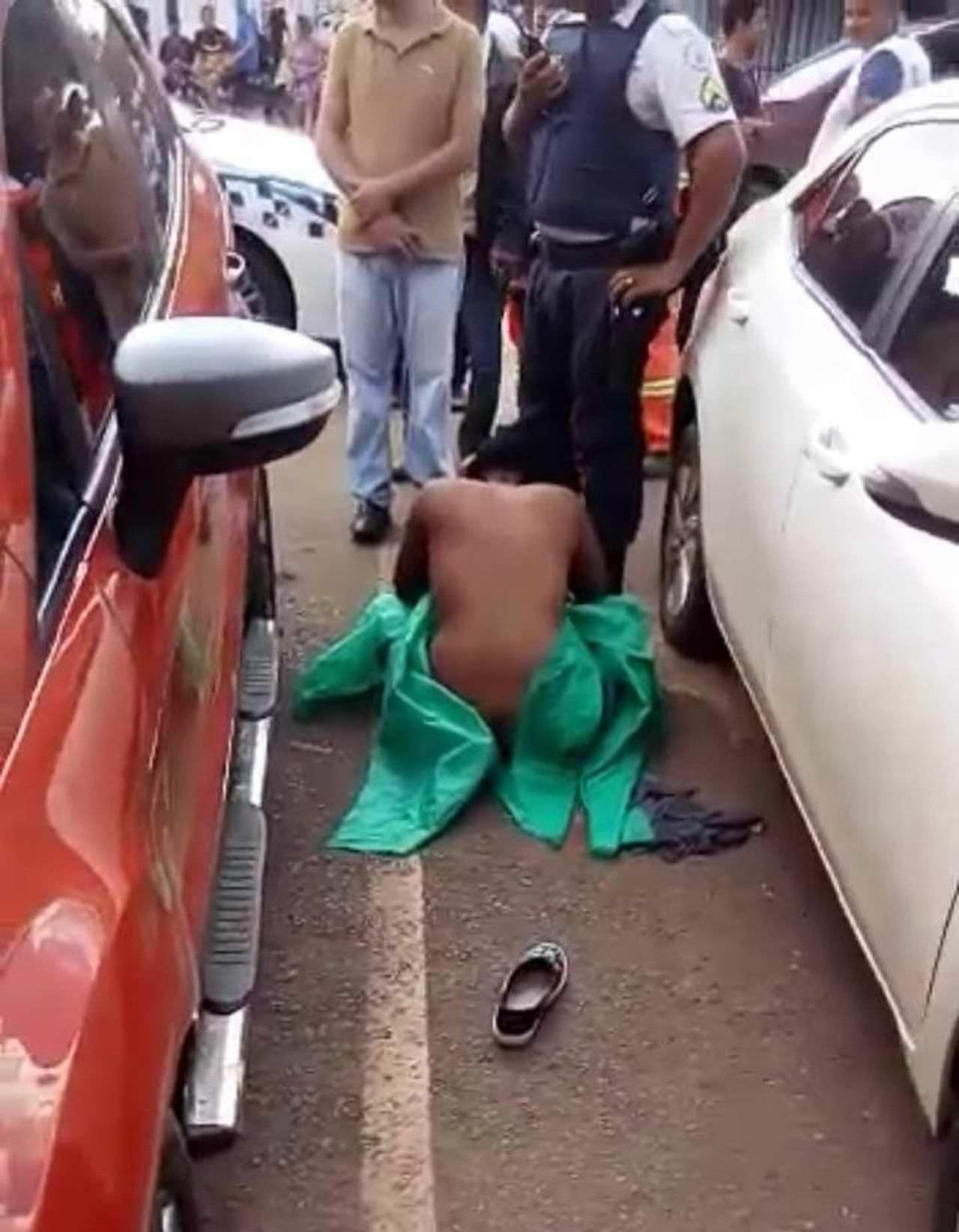 87d396a34 PM é preso após agredir mulher e deixá-la nua no meio da rua; veja vídeo