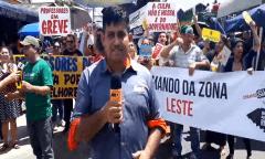 Greve dos professores: 'Wilson Lima, não use a LRF como desculpa'