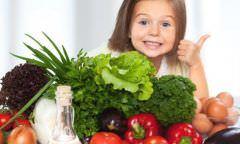 Alimentação saudável ajuda a melhorar os hábitos das crianças