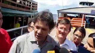 """Haddad sobre Bolsonaro abrir Amazônia aos EUA: """"Falta de juízo"""""""