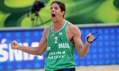 Alison/Álvaro Filho e Evandro/Bruno Schmidt avançam às oitavas de final
