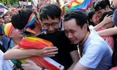 Taiwan tem primeiros casamentos homossexuais da Ásia