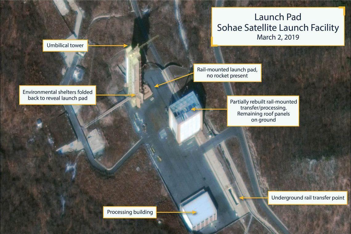 Imagens sugerem que base de mísseis na Coreia do Norte foi aprimorada
