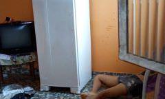 Jovem surta, mata própria irmã a facadas, mas acaba preso, em Manaus