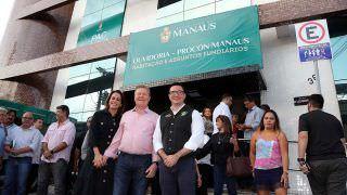 Prefeito Arthur Neto inaugura PAC municipal na Praça 14