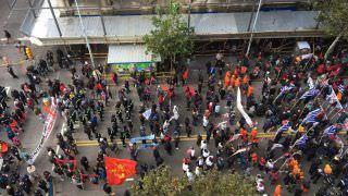 Uruguai tem paralisação geral em apoio a trabalhadores do gás