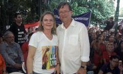 'Zé Ricardo será próximo prefeito de Manaus', crava Gleisi Hoffmann