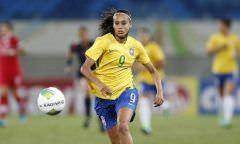 Andressa Alves sente lesão muscular e está fora da partida contra a Itália
