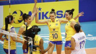 Garantida nas finais da Liga das Nações, seleção feminina vence a Itália