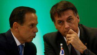 Bolsonaro provoca Doria e fala em 2022: 'ele tem que pensar no Brasil'