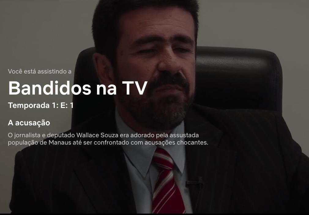 Repercussão com Wallace faz diretor pensar em 2ª fase de 'Bandidos na TV'