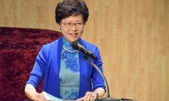 Líder de Hong Kong reitera suspensão de projeto alvo de protestos