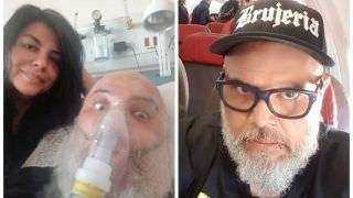 João Gordo recebe alta médica, após uma semana internado, em São Paulo