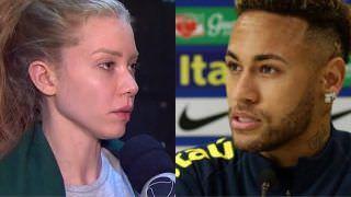 Mulher que acusa Neymar volta depor na delegacia