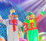 Palhaços Patati Patatá se apresentam no Ramito Circo, em Manaus