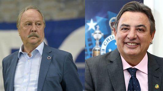 Sede do Cruzeiro amanhece com pichação contra a diretoria