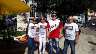 Protesto contra a reforma em Manaus tem pouca adesão popular