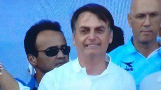 Bolsonaro é o primeiro presidente a participar da 'Marcha pra Jesus'